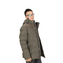 Wholesale Plus Size Long Winter Mens Coat with Hood