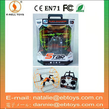 4-ch metal proportion rc airplane model with 2 colors
