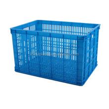HDPE food grade mesh type plastic basket for vegetable market