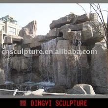 rockery waterfall landscaping