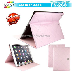 OEM tablet PC flip leather back cover,PU leather case for Ipad