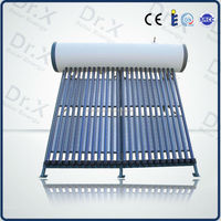Green energy products compact pressured solar hot water heater with reasonable working principle