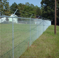 Galvanized steel woven chain link fence / Chain link fence rolls