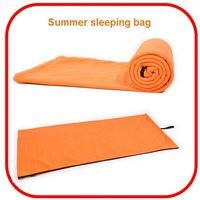 Wholesale popular waterproof cheap 0-degree camping thick sleeping bag