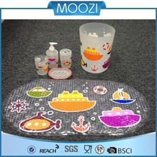 41x71cm animal print child bath mat pvc baby bath mat
