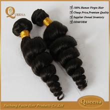 grade 7a virgin brazilian loose curl hair curly brazilian hair brazilian loose curl loose curl human hair weaving tangle free