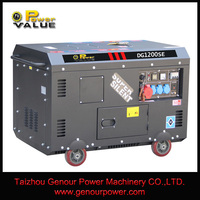 Power Value CHINA TaiZhou 10kw Silent Suitcase 10hp Diesel 10kv Generator