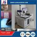 Industrial fiber laser marker with rotary attachment/fiber laser marking serial numbers, two-dimensional code on auto parts