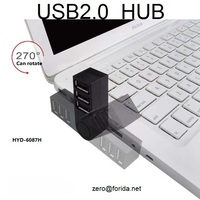 Forida direct factory wholesale HYD-6087H 4 port usb 2.0 hub