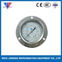 HVAC parts Oil-filled pressure gauge, high pressure oil pressure gauge 3.8MPa