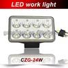 CZG-24WS 4 inch square type lamp 24W LED work light