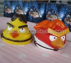 plastic vinyl toy action figure, bird pvc vinyl toys, OEM pvc vinyl toy