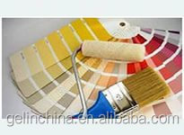 Various color interior latex paint