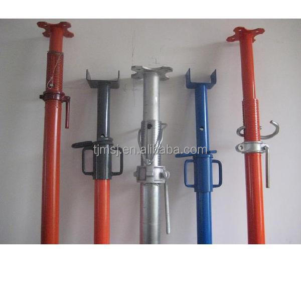Adjustable Telescopic Prop : Q high quality construction scaffolding metal steel