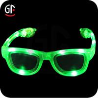 Flashing Light Sunglasses 2015 custom for women Tropical Party Sunglasses
