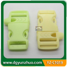 High Quality Colorful Quick Side Release Plastic Buckle With Whistle