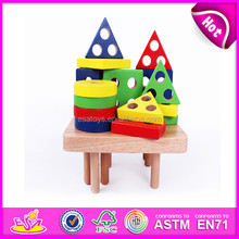 Hot new product for 2015 Wooden puzzle toy for kids,wooden toy 3d puzzle diy toy,Hot sale 3d jigsaw puzzle for children W13D027