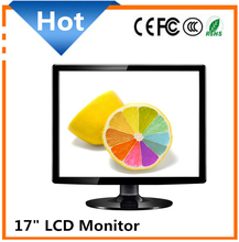 PC Computer Monitor 17 inch Square Monitor with USB