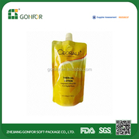 Good Peputation Factory Price Alibaba Suppliers Travel Bag Spout Pouch