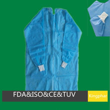 Cheapest price non woven medical gown for hospital