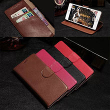 Phone bag for sony xperia z3, genuine leather cover for Sony Z3