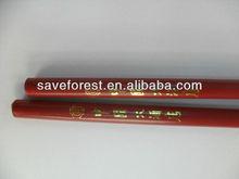 lápiz del hotel, el lápiz rojo con Tip-Top