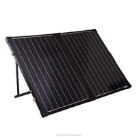 (50w*2) Folding solar panel kit portable 100w/12V folded photovoltaic modules