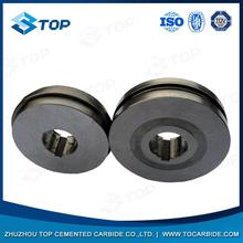 Wear-resistance pr6.0 125x82x15mm tungsten carbide rolls for forming smooth steel wires from China manufacturer