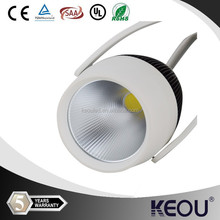High CRI 12w 15w 20w 25w 30w 35w 40w cob led track light 4 wire/3 wire/2 wire