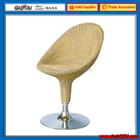 Bar Stool Bar chair With Rattan coverd And ABS low back GY-108