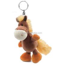 Wholesale Animal Stuffed Plush Keychain little pony keychain
