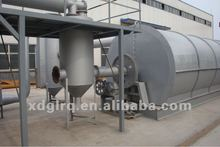 2012 new design scrap tyre/rubber pyrolysis recycling machine to oil/carbon black