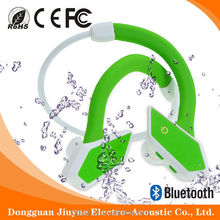 Patent and waterproof sport bluebooth CSR4.0 headphones outdoor noise cancellation