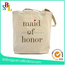 2015 high quality blank canvas wholesale tote bags from alibaba china supplier