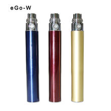 2013 new products on market Good quality with different colors electrical cigarette ego w 650/1100mah