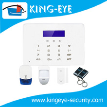 2014 new multi-language gsm based home usage touch screen alarm system with Android / IOS APP control