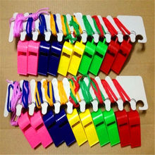 factory custom wholesale plastic whistle