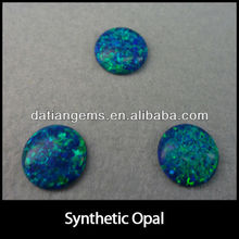Fancy round shape stunning ethiopian black opal