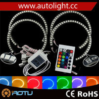 Waterproof RGB Led Angel Eyes Ring Light 131mm 146mm 5050 42smd for E46