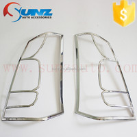 Tail light cover chromed FOR Suzuki Wagon-r chrome rear lamp cover decorative led exterior car accessories