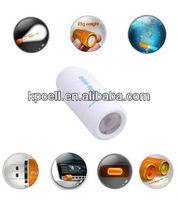 waterproof mini ABS led usb rechargeable torch mini magnetic led light