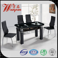 latest design China compact dining tables and chairs