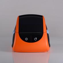 Cute orange two in one portable mini printer scanner