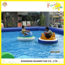 2015 attractive summer games water bumper boat made in China