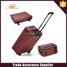 2015 new design foldable trolley travel bag