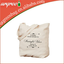 Organic Cotton Tote Bags Wholesale, Cotton Shopping Bag With Standard Bag Size