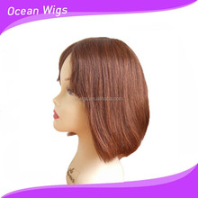 new design afro short kinky curly human hair extention wigs