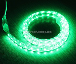 Factory price SMD5050 60leds/m continuous length flexible led light strip green color