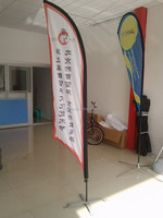 hot selling outdoor advertising flagpole banner
