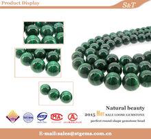 6/8/10/12 Malachite Gemstone Round Loose 100% natural Beads